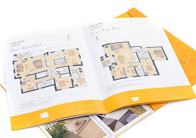 Foldrar & broschyrer